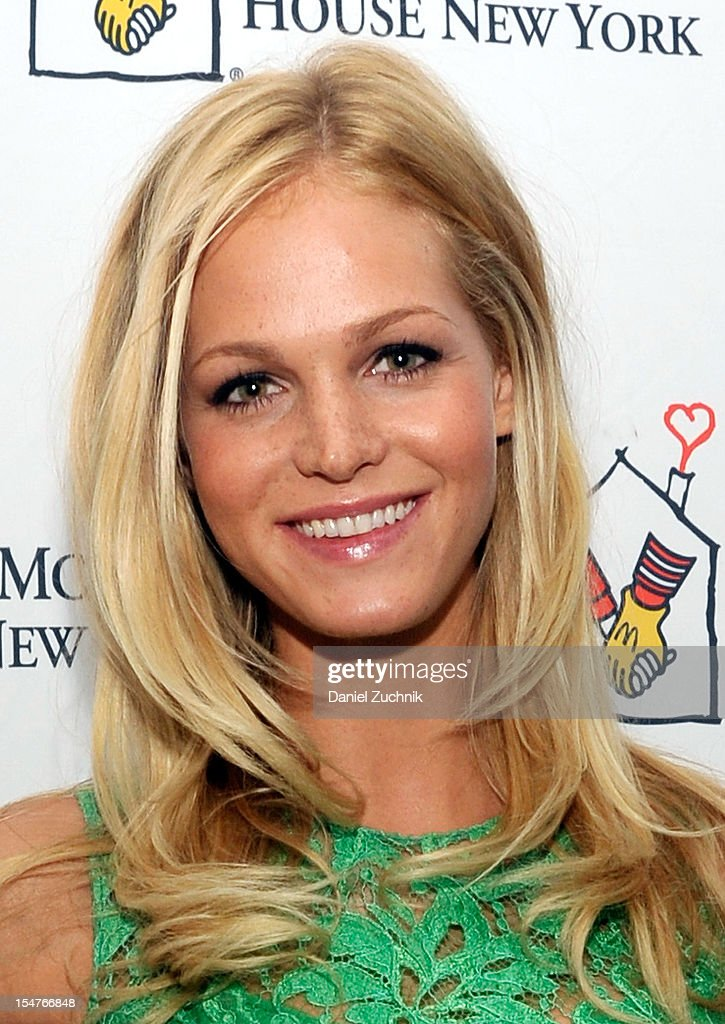 Model Erin Heatherton attends the Masquerade Ball Benefiting Ronald McDonald House at Apella on October 25, 2012 in New York City.