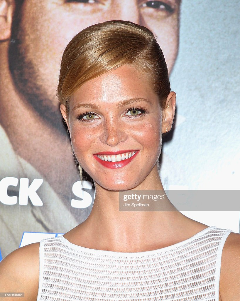 Model Erin Hetherton attends the 'Grown Ups 2' New York Premiere at AMC Lincoln Square Theater on July 10, 2013 in New York City.