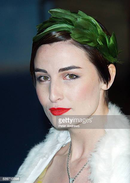 Model Erin O'Connor arrives at the Royal Film Performace and World Premiere of 'The Chronicles of Narnia' at the Royal Albert Hall London The...