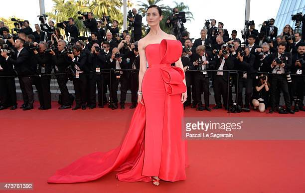 Model Erin O'Connor attends the 'Carol' Premiere during the 68th annual Cannes Film Festival on May 17 2015 in Cannes France