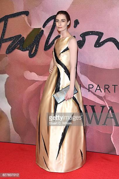 Model Erin O'Connor attends The Fashion Awards 2016 on December 5 2016 in London United Kingdom