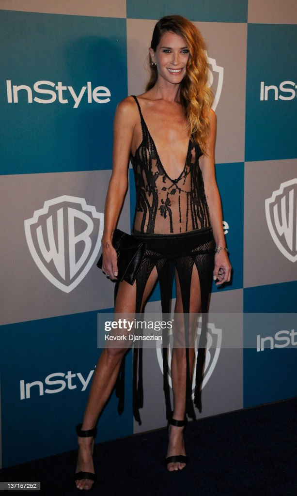 Model Erin Wasson arrives at 13th Annual Warner Bros And InStyle Golden Globe Awards After Party at The Beverly Hilton hotel on January 15 2012 in...