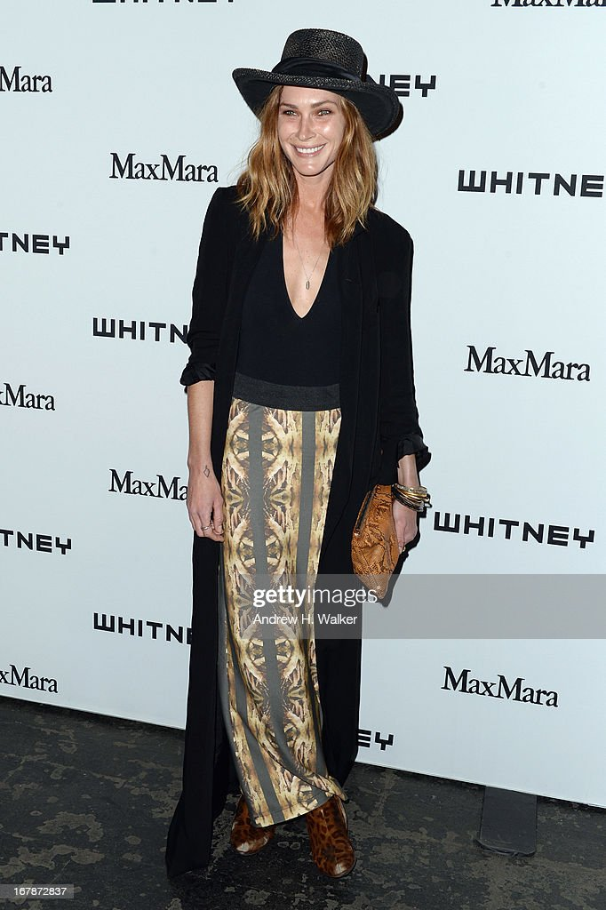 Model Erin Wasson arrives at the Whitney Museum Annual Art Party on May 1, 2013 in New York City.