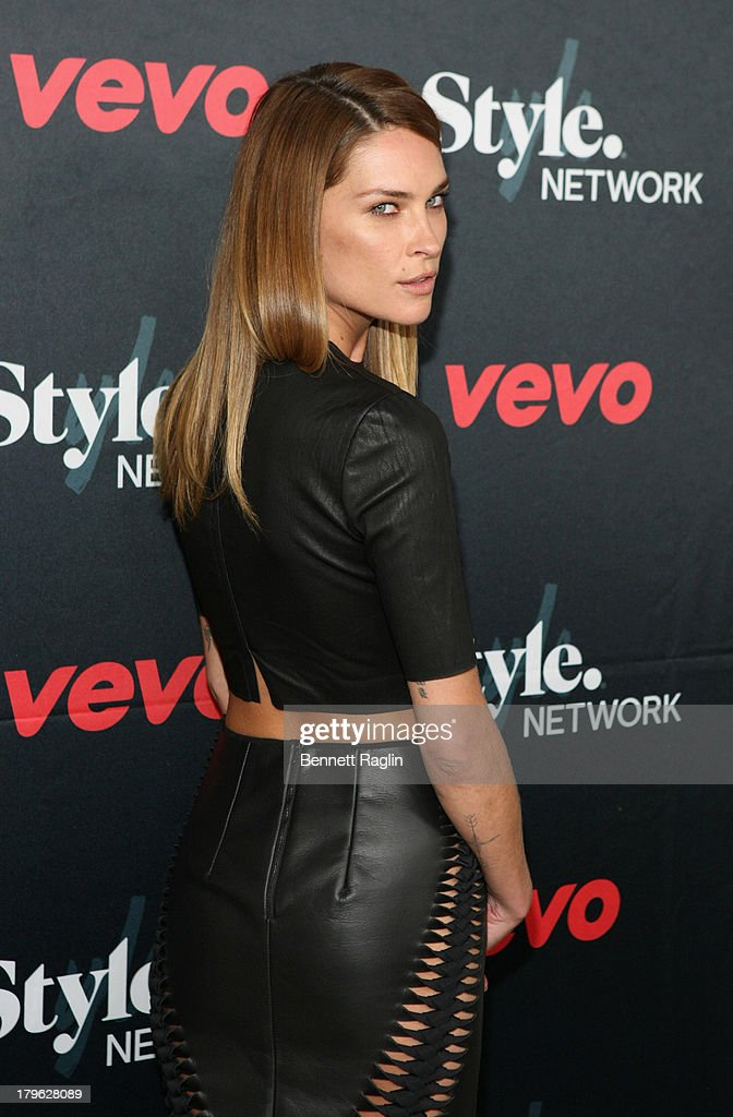 Model Erin Wasson attends Style Network's 'Style To Rock' Event at Skylight Modern on September 5 2013 in New York City