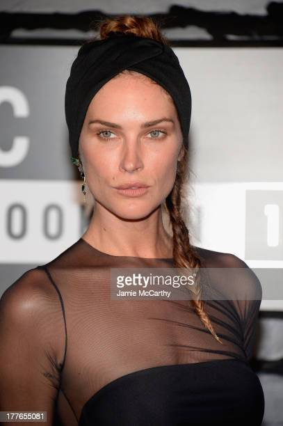 Model Erin Wasson attends the 2013 MTV Video Music Awards at the Barclays Center on August 25 2013 in the Brooklyn borough of New York City