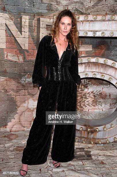 Model Erin Wasson attends the CHANEL Dinner Celebrating N°5 THE FILM by Baz Luhrmann on October 13 2014 in New York City