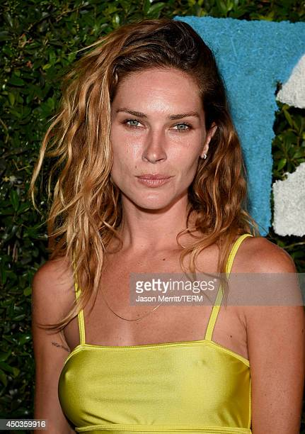 Model Erin Wasson attends the TakeTwo E3 Kickoff Party at Cecconi's Restaurant on June 9 2014 in Los Angeles California