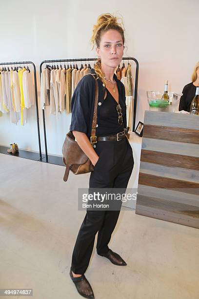 Model Erin Wasson attends the Zadig Voltaire Malibu store opening on May 31 2014 in Malibu California