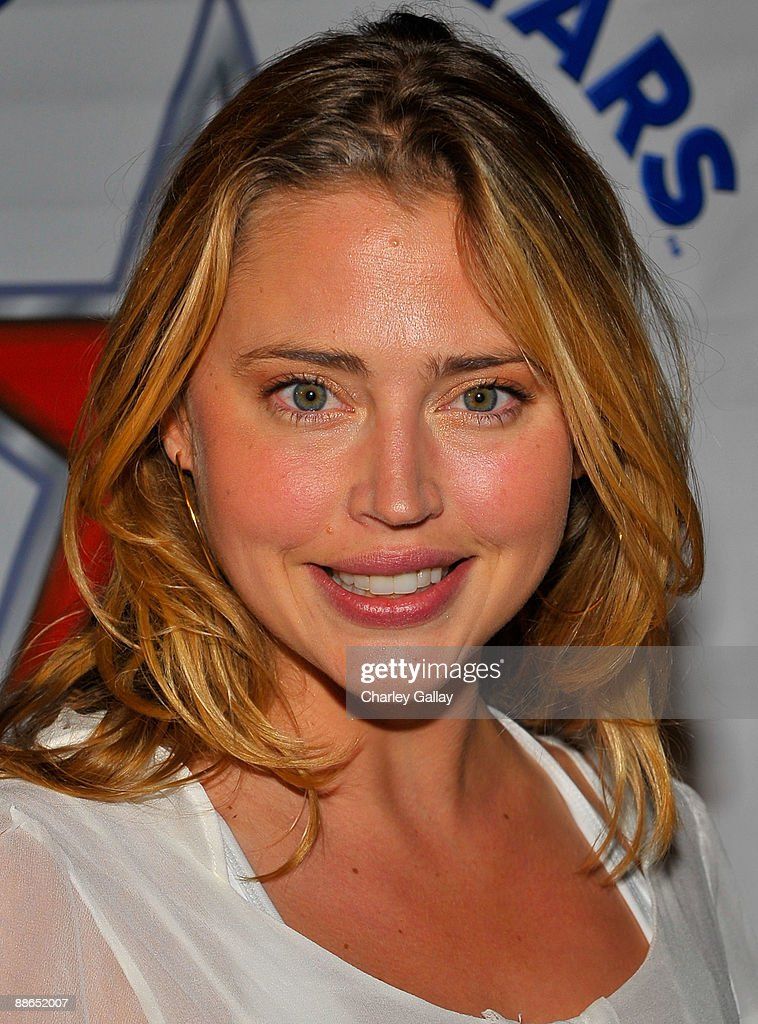 Model Estella Warren attends ABC Television & Juma Entertainment's 'The Superstars' premiere party at Saddle Ranch on June 23, 2009 in Universal City, California.