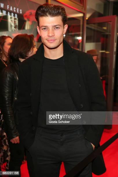 Model Eugen Bauder during the New Faces Award Film at Haus Ungarn on April 27 2017 in Berlin Germany