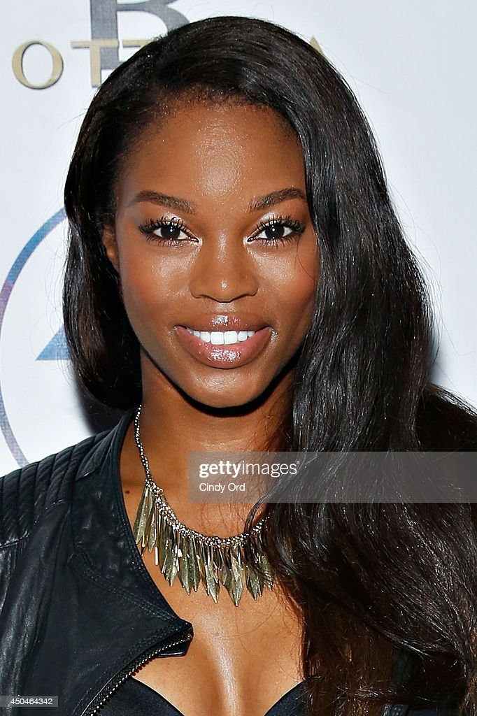 Model <a gi-track='captionPersonalityLinkClicked' href=/galleries/search?phrase=Eugena+Washington&family=editorial&specificpeople=4517452 ng-click='$event.stopPropagation()'>Eugena Washington</a> attends the grand opening of The Attic Rooftop Lounge on June 11, 2014 in New York City.