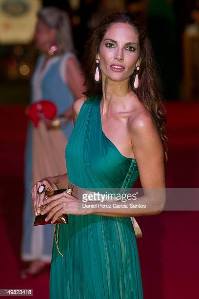 Model Eugenia Silva attends the 3rd annual Starlite Charity Gala on August 4 2012 in Marbella Spain