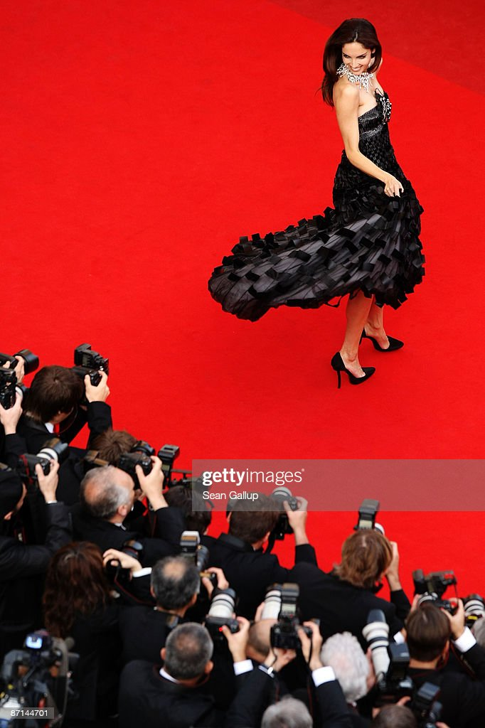 Model Eugenia Silva attends the 'Up' Premiere at the Palais De Festival during the 62nd International Cannes Film Festival on May 13, 2009 in Cannes, France.