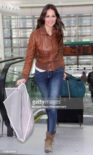 Model Eva Gonzalez is seen on April 8 2012 in Madrid Spain