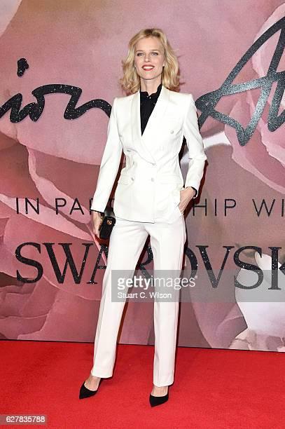 Model Eva Herzigova attends The Fashion Awards 2016 on December 5 2016 in London United Kingdom