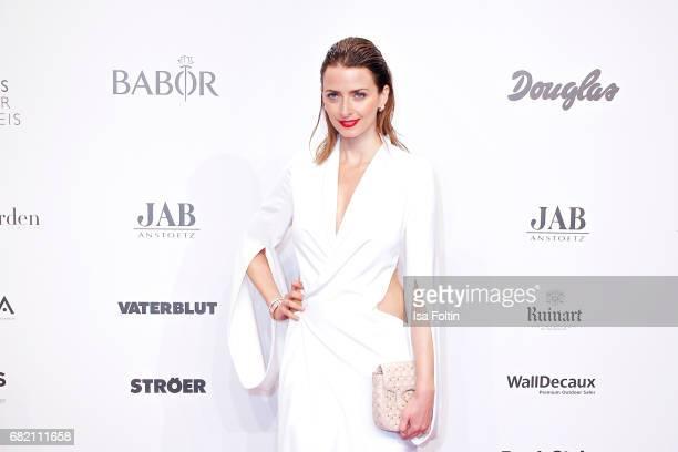 Model Eva Padberg attends the Duftstars at Kraftwerk Mitte on May 11 2017 in Berlin Germany