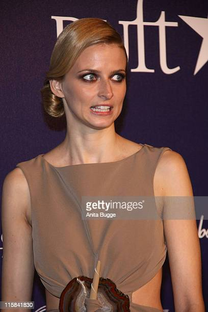 Model Eva Padberg attends the 'Duftstars Award 2009 ' on May 15 2009 in Berlin Germany
