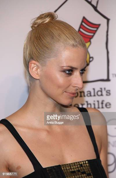 Model Eva Padberg attends the Mc Donalds Fundraising Gala at Hyatt Hotel on October 17 2009 in Berlin Germany