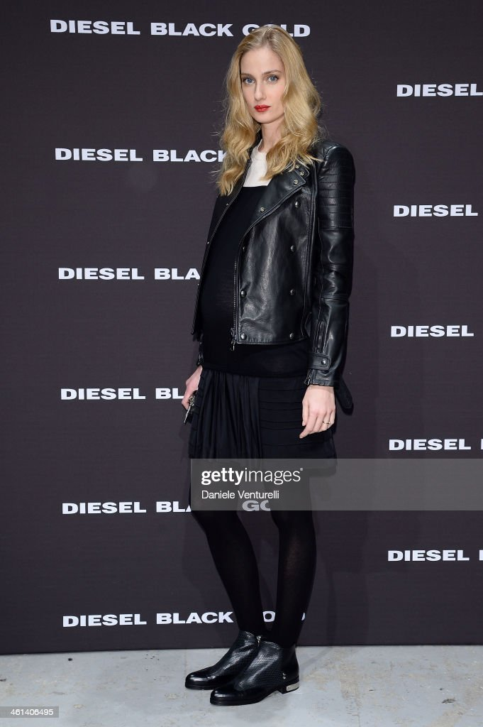 Model <a gi-track='captionPersonalityLinkClicked' href=/galleries/search?phrase=Eva+Riccobono&family=editorial&specificpeople=885062 ng-click='$event.stopPropagation()'>Eva Riccobono</a> attends Diesel Black Gold during the Pitti Immagine Uomo 85 on January 8, 2014 in Florence, Italy.