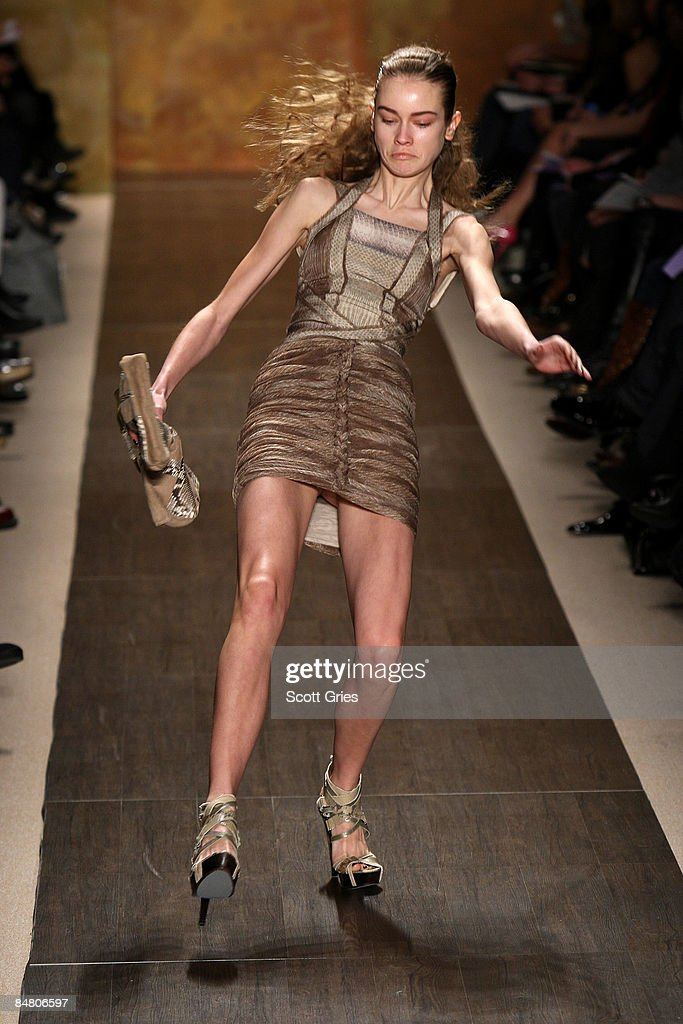 Phrase runway models upskirt the