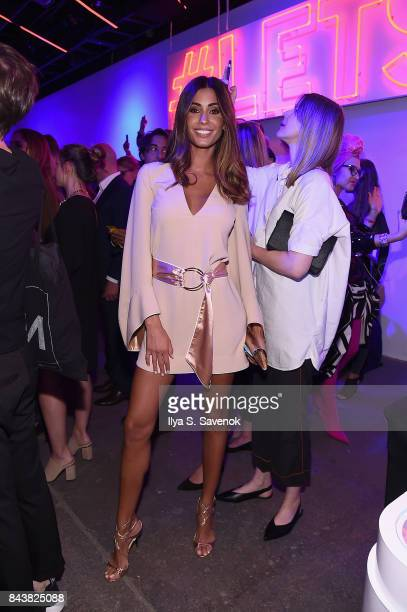 Model Federica Nargi attends the Esmara By Heidi Klum Lidl Fashion Presentation at New York Fashion Week #Letswow at ArtBeam on September 7 2017 in...