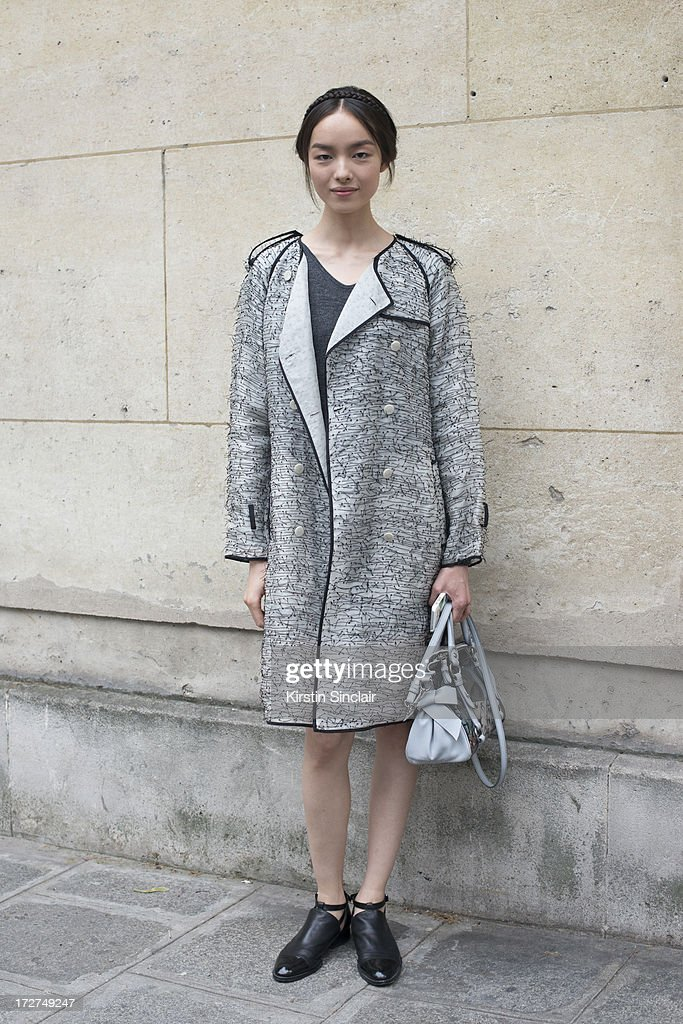 Model Fei Fei Sun on day 3 of Paris Collections: Womens Haute Couture on July 03, 2013 in Paris, France.