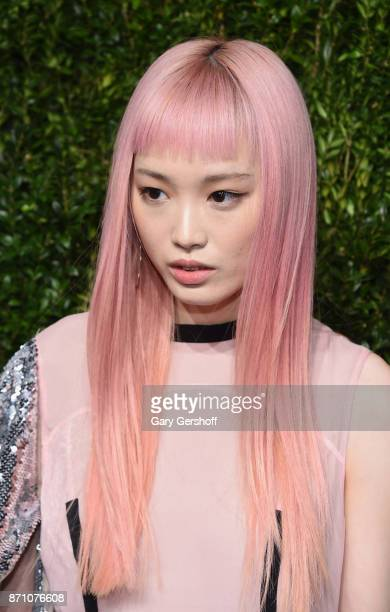 Model Fernanda Ly attends the 14th Annual CFDA/Vogue Fashion Fund Awards at Weylin B Seymour's on November 6 2017 in the Brooklyn borough of New York...