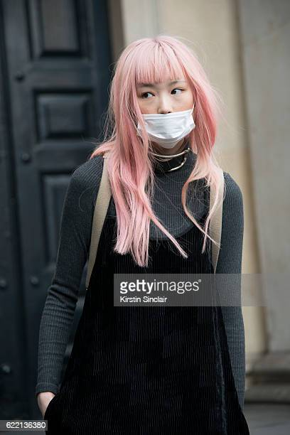 Model Fernanda Ly day 4 of London Womens Fashion Week Spring/Summer 2016 on September 19 2016 in London England
