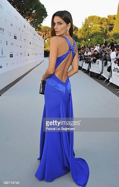 Model Fernanda Motta arrives at amfAR's Cinema Against AIDS 2010 benefit gala at the Hotel du Cap on May 20 2010 in Antibes France