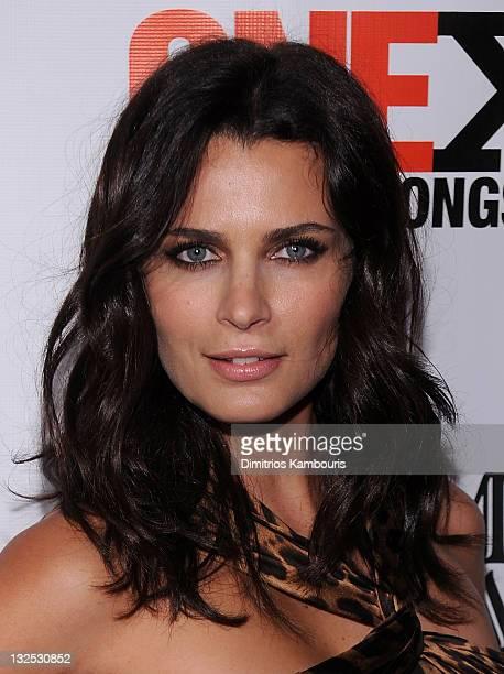 Model Fernanda Motta attend the 3rd annual fundraiser for the ONEXONE Foundation at Capitale on October 27 2010 in New York City