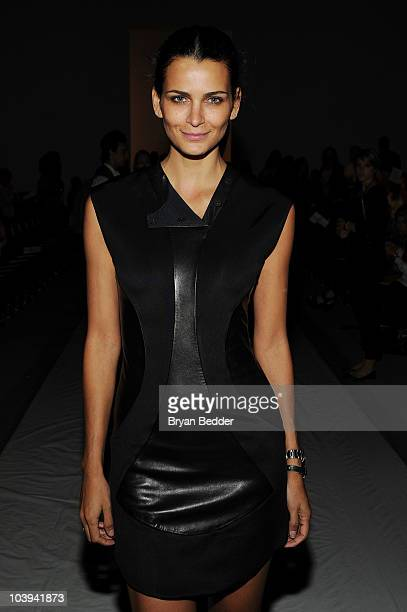 Model Fernanda Motta attends the Ruffian Spring 2011 fashion show during MercedesBenz Fashion Week at The Studio at Lincoln Center on September 9...