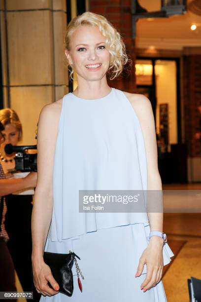 Model Franziska Knuppe attends the Yargici Flagship Store Opening at Levantehaus on May 31 2017 in Hamburg Germany