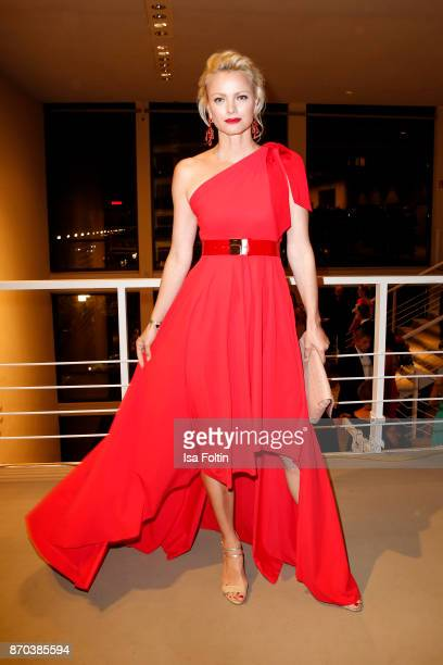 Model Franziska Knuppe during the 24th Opera Gala at Deutsche Oper Berlin on November 4 2017 in Berlin Germany