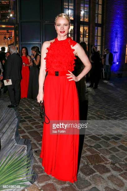 Model Franziska Knuppe during the GreenTec Awards Show at ewerk on May 12 2017 in Berlin Germany