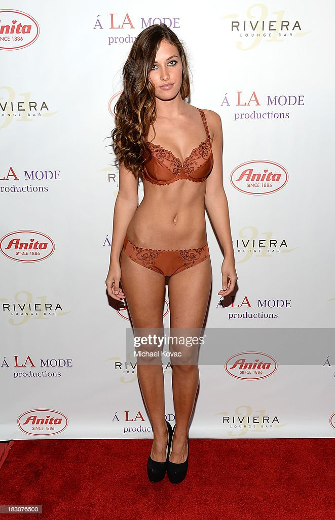 A model from Anita attends A la mode Productions Presents Designers Night Out at Sofitel Hotel on October 3, 2013 in Los Angeles, California.