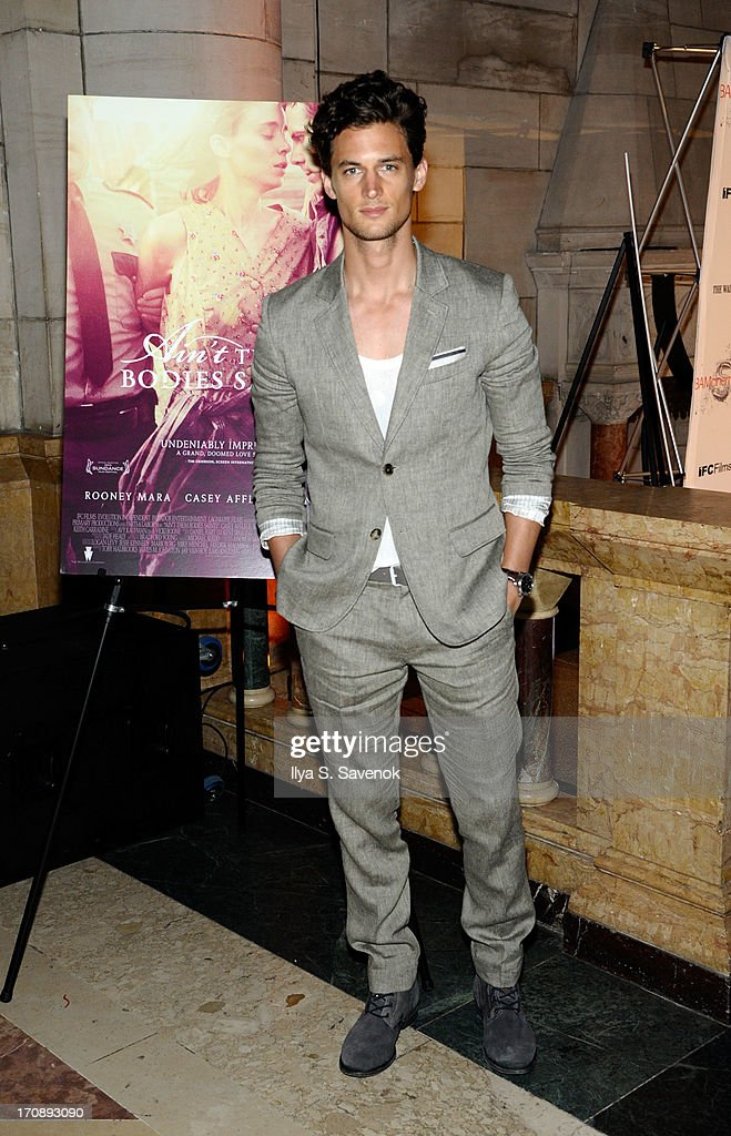 Model Garrett Neff attends the after party for the Opening Night premiere of 'Ain't Them Bodies Saints' hosted by The Cinema Society at Skylight One Hanson on June 19, 2013 in New York City.