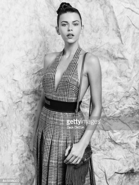Model Georgia Fowler poses for a portrait during the Daily Front Row's Fashion Media Awards at Four Seasons Hotel New York Downtown on September 8...