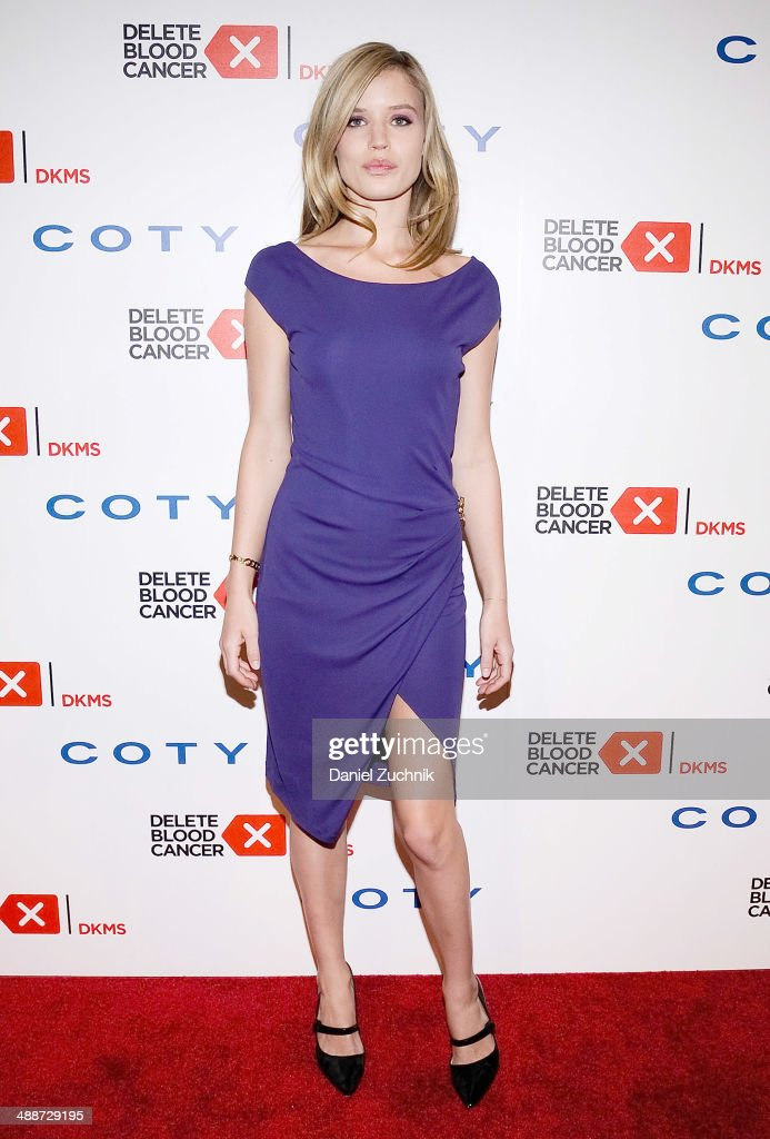 Model Georgia May Jagger attends the 2014 Delete Blood Cancer Gala at Cipriani Wall Street on May 7, 2014 in New York City.
