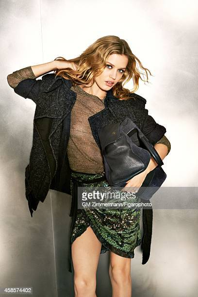 Model Georgia May Jagger is photographed for Madame Figaro on June 20 2014 in Paris France Makeup by Dior CREDIT MUST READ GillesMarie...