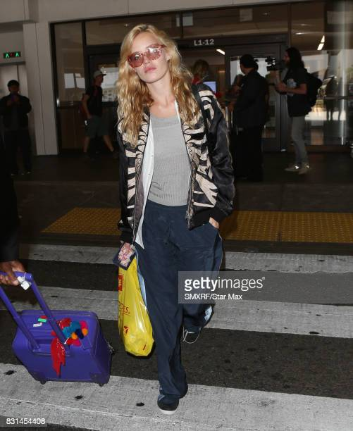 Model Georgia May Jagger is seen on August 14 2017 in Los Angeles California