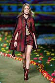 Model Georgia May Jagger walks the runway at Tommy Hilfiger Women's fashion show during MercedesBenz Fashion Week Spring 2015 at Park Avenue Armory...