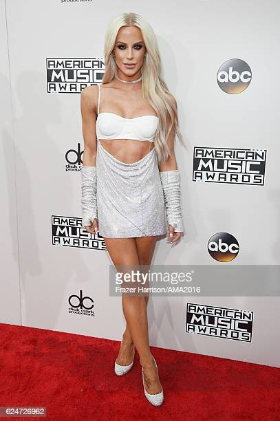 Model Gigi Gorgeous attends the 2016 American Music Awards at Microsoft Theater on November 20 2016 in Los Angeles California