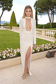 Model Gigi Hadid arrives at amfAR's 22nd Cinema Against AIDS Gala Presented By Bold Films And Harry Winston at Hotel du CapEdenRoc on May 21 2015 in...