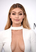 Model Gigi Hadid attends amfAR's 22nd Cinema Against AIDS Gala Presented By Bold Films And Harry Winston at Hotel du CapEdenRoc on May 21 2015 in Cap...