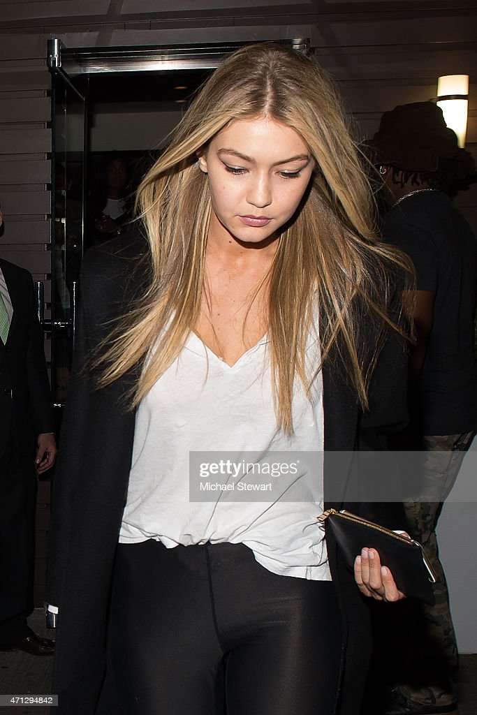 Model Gigi Hadid attends her birthday party at Red Stixs on April 26, 2015 in New York City.