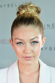 Model Gigi Hadid attends Maybelline New York 100th Anniversary Party at One Eighty Restaurant on June 3 2015 in Toronto Canada