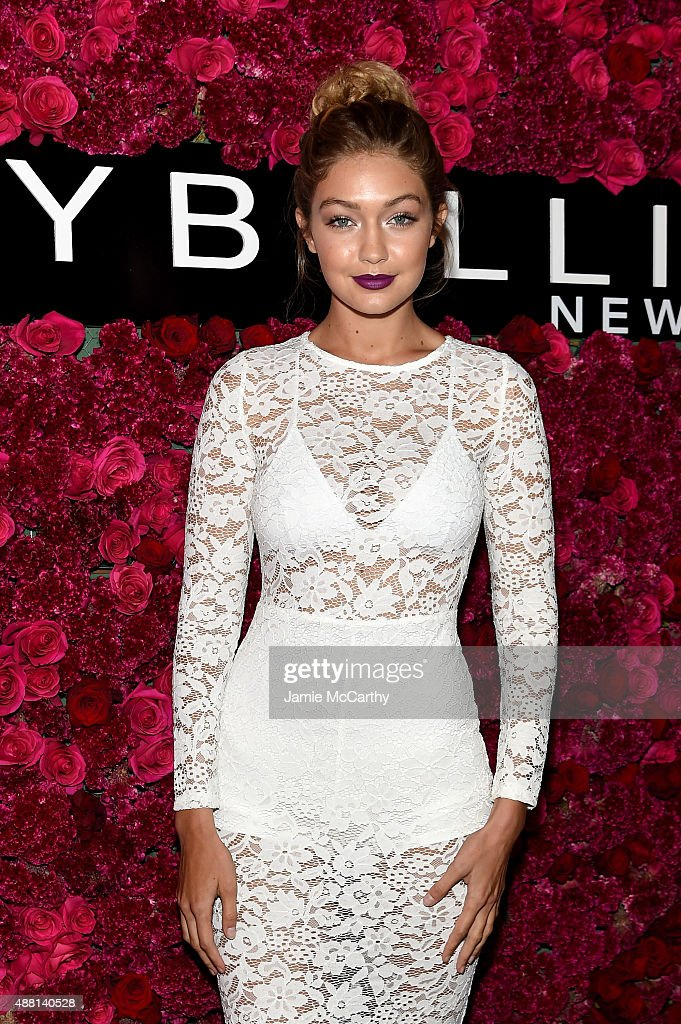 Model Gigi Hadid attends Maybelline New York Celebrates New York Fashion Week at Sixty Five on September 13, 2015 in New York City.