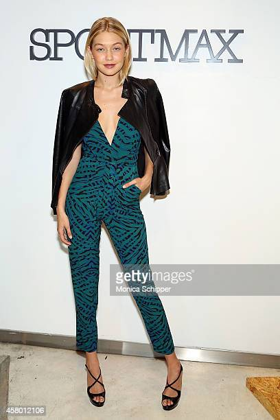 Model Gigi Hadid attends Sportmax and Teen Vogue Celebrate The Fall/Winter 2014 Collection at Sportmax on October 28 2014 in New York City