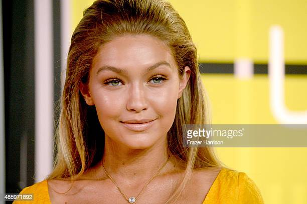 Model Gigi Hadid attends the 2015 MTV Video Music Awards at Microsoft Theater on August 30 2015 in Los Angeles California