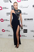Model Gigi Hadid attends the 23rd Annual Elton John AIDS Foundation Academy Awards Viewing Party on February 22 2015 in Los Angeles California